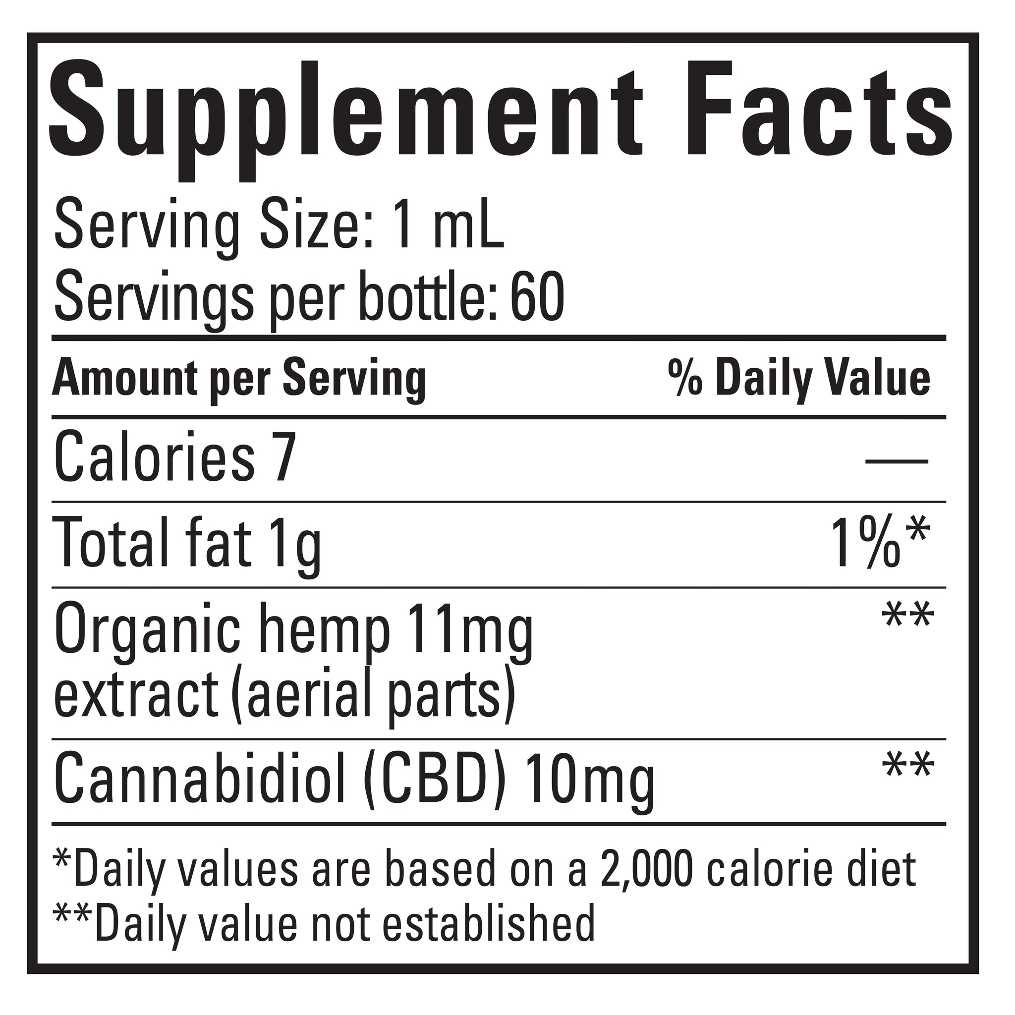CBD OIL - CHOCOLATE MINT - 600 MG CBD SUNSOIL FULL SPECTRUM CBD