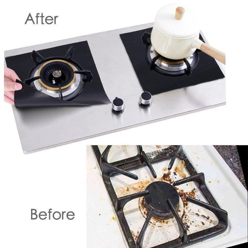 Reusable Stove Top Protector (4 Pcs) Alpha Bargain