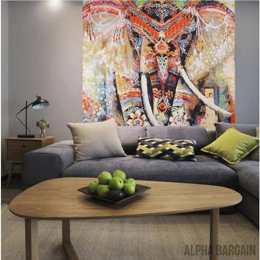 ELEPHANT TAPESTRY Alpha Bargain