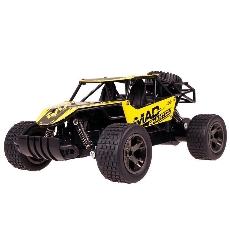 2.4G Off Road Remote Control High Speed RC Car RC Cars Alpha Bargain Yellow