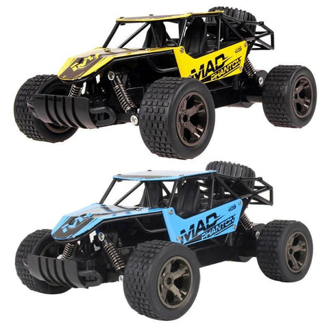 Image of 2.4G Off Road Remote Control High Speed RC Car RC Cars Alpha Bargain Blue