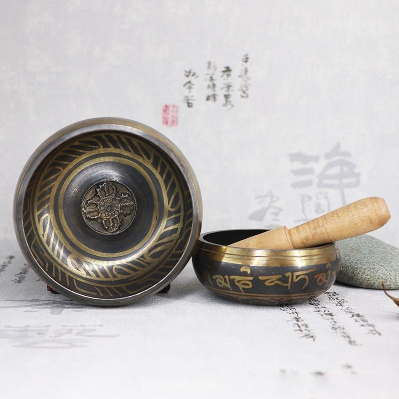 Tibetan Singing Bowl With Hand Stick