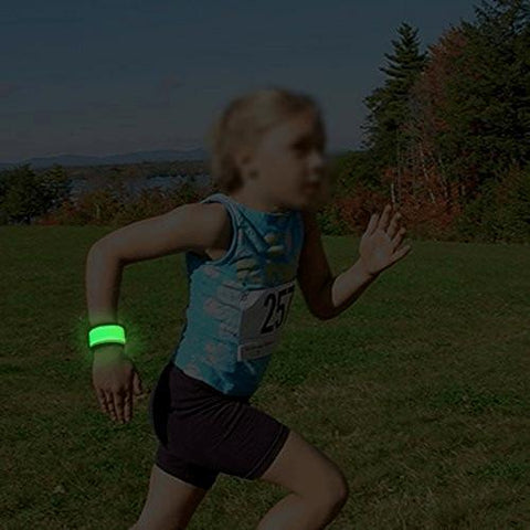 Image of LED Slap Armband, Lights for Running, Glow Bracelets Alpha Bargain