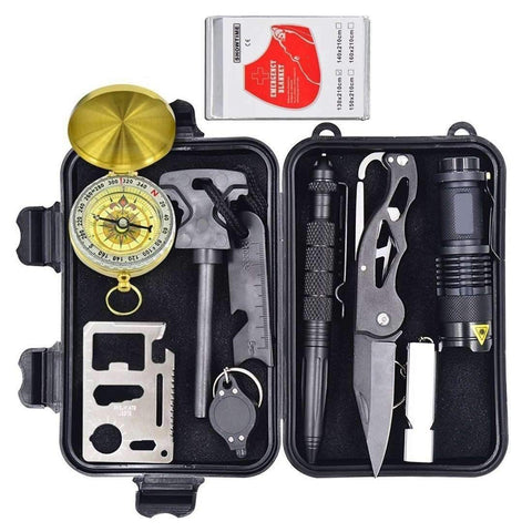 Image of 10 in 1 Emergency Survival Kit Alpha Bargain