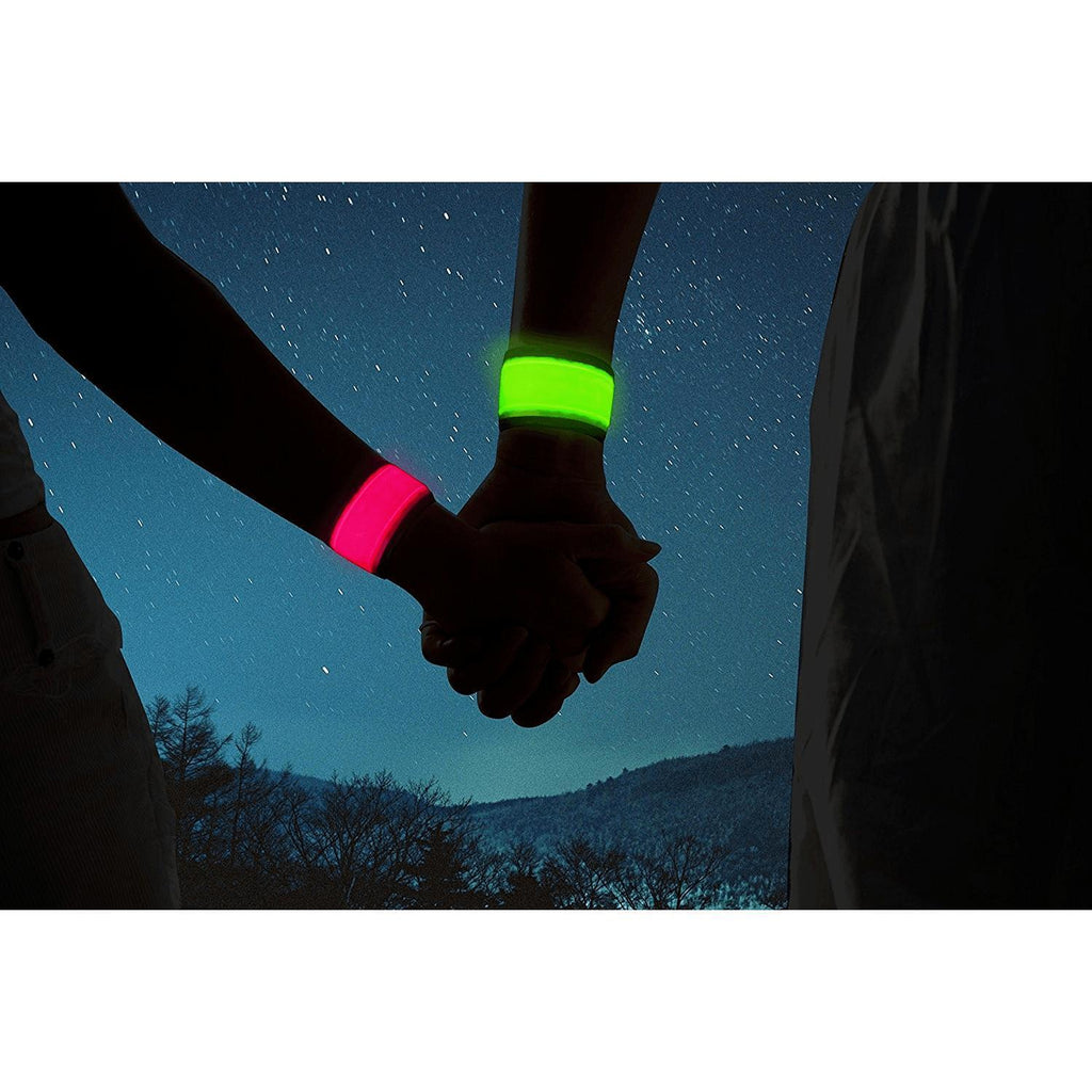 LED Slap Armband, Lights for Running, Glow Bracelets Alpha Bargain