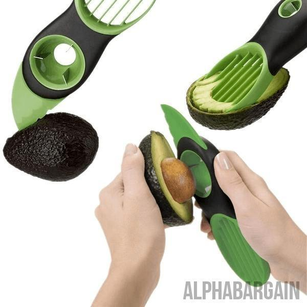 3-in-1 Avocado Slicer - Alpha Bargain