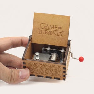Game of Thrones Wooden Music Box Music Boxes Six trees Store