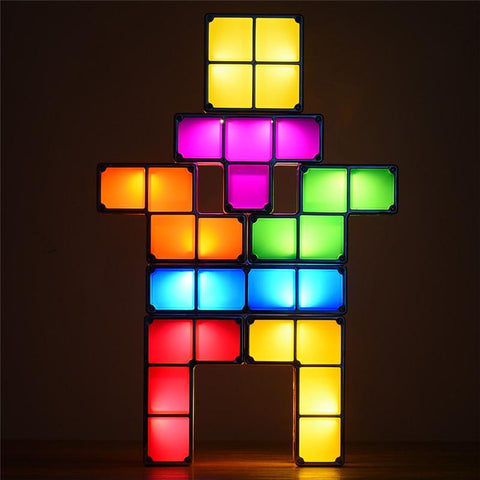 Image of Retro Puzzle LED Night Light