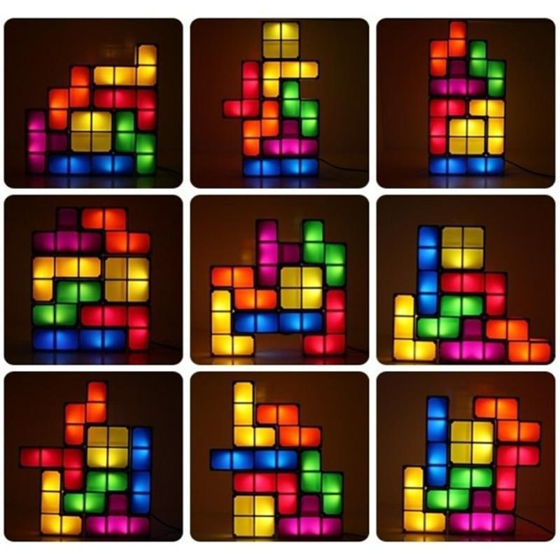 Retro Puzzle LED Night Light