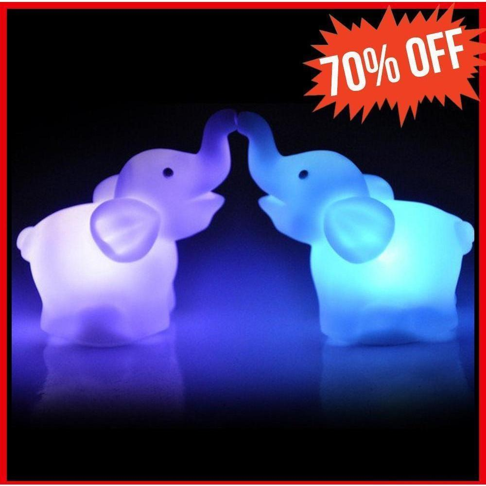 Elephant LED Night Light - Alpha Bargain