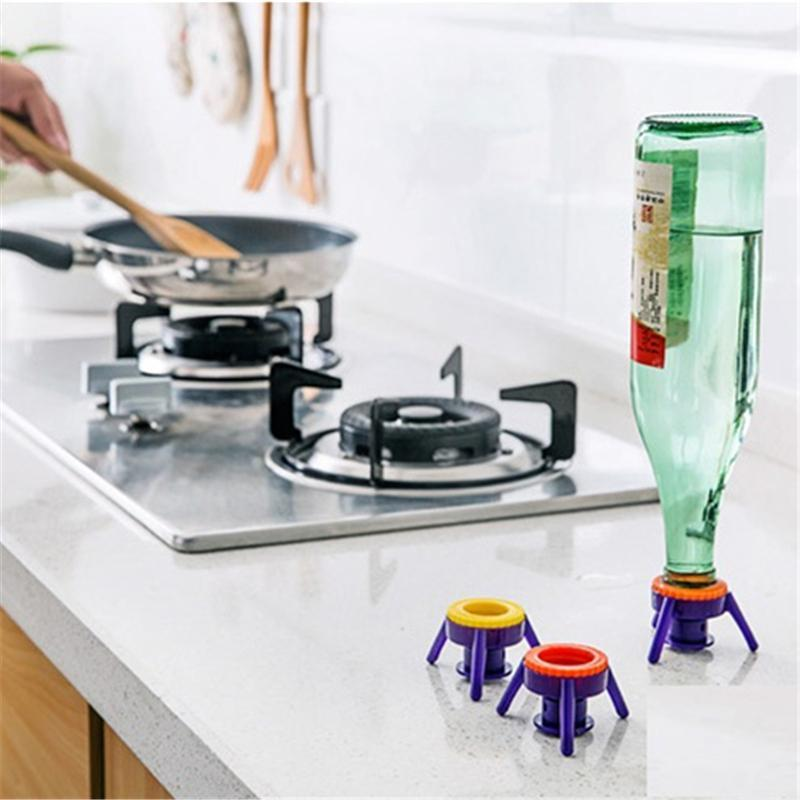 Pop-up Bottle Stand Caps (6 Pcs) Openers Bornisking store