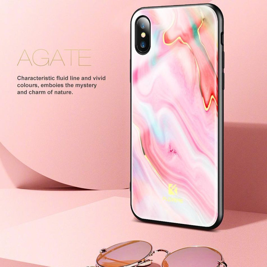 Agate Art Case For iPhone