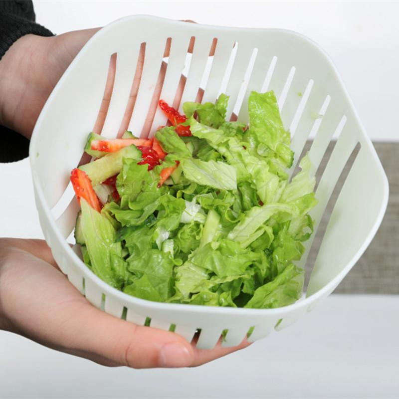 SaladBowl™ - Quick DIY Salad Cutter