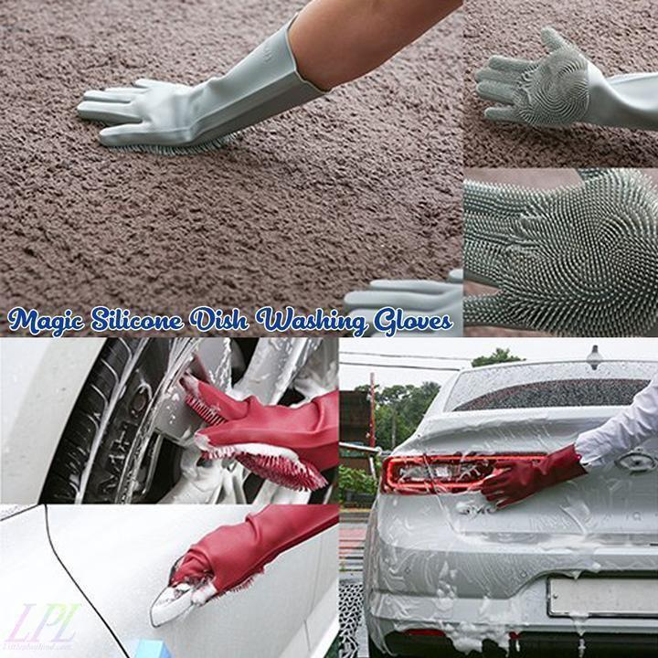Magic Silicone Gloves Household Gloves Alpha Bargain