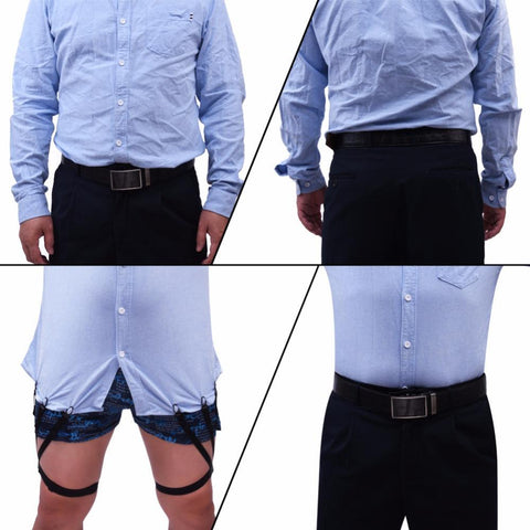 Image of Stay Tucked™ Suspenders Alpha Bargain
