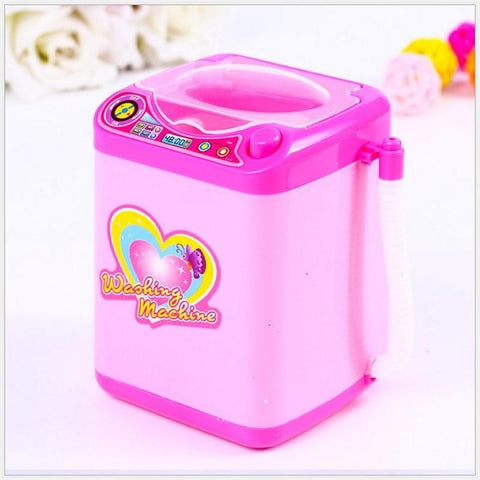 Image of Mini Washing Machine Makeup Brush Cleaner Furniture Toys Alpha Bargain