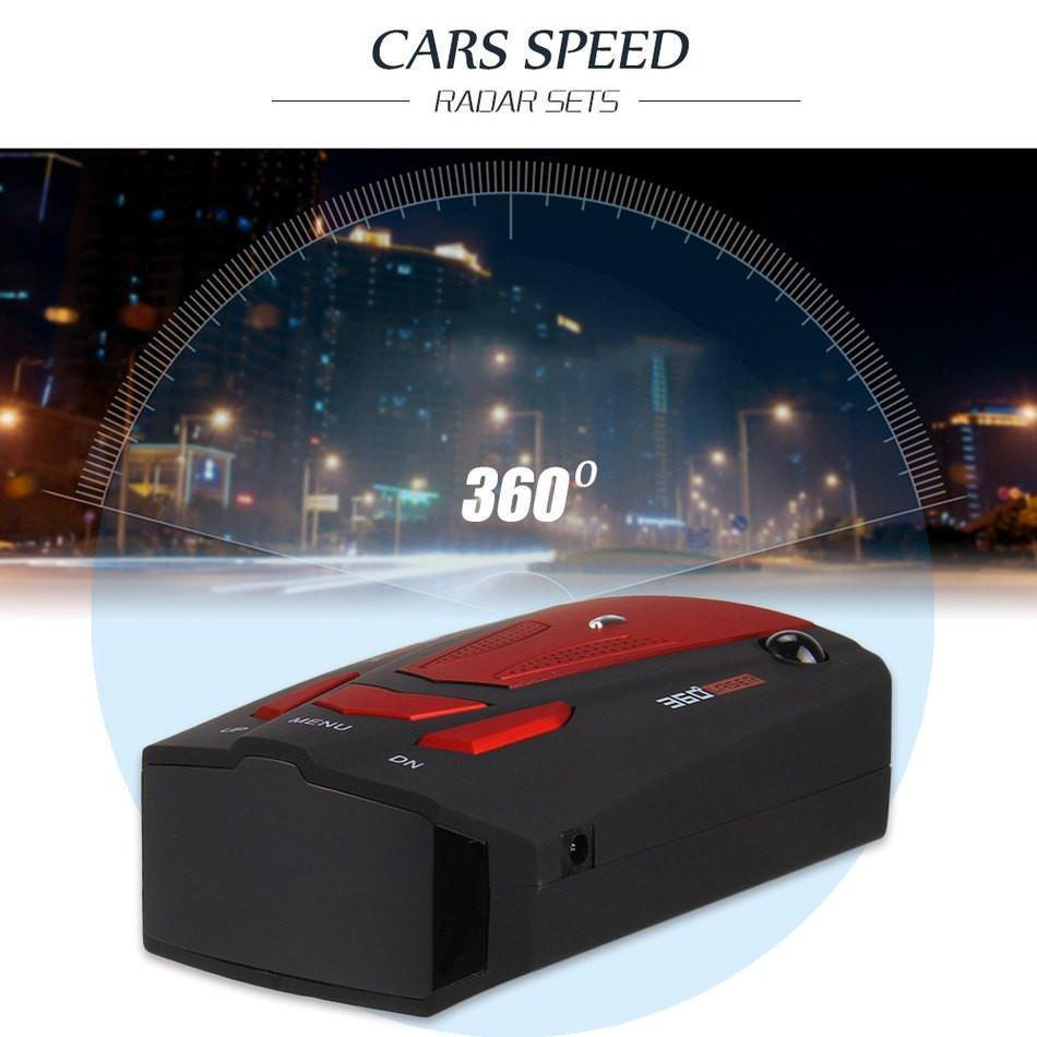 AlphaTek 360 Degree Laser/Radar Detector With Voice Alert Warning Radar Detectors Eunavi Official Store
