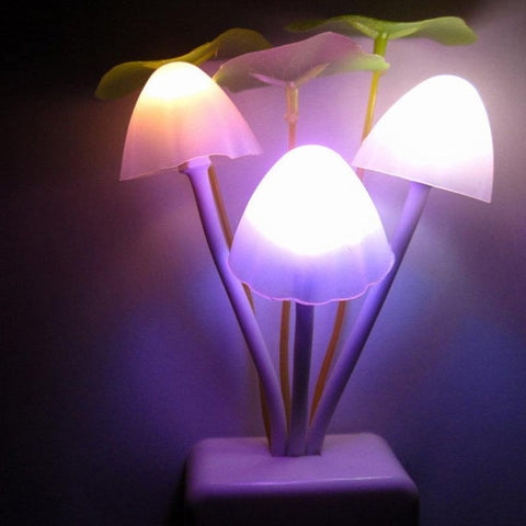 Image of Lucky Mushroom Night Light Night Lights Alpha Bargain