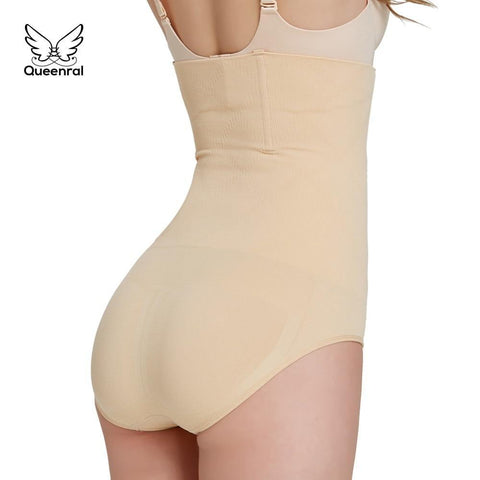 Image of High-Waisted Tummy Shaper Control Panties Alpha Bargain