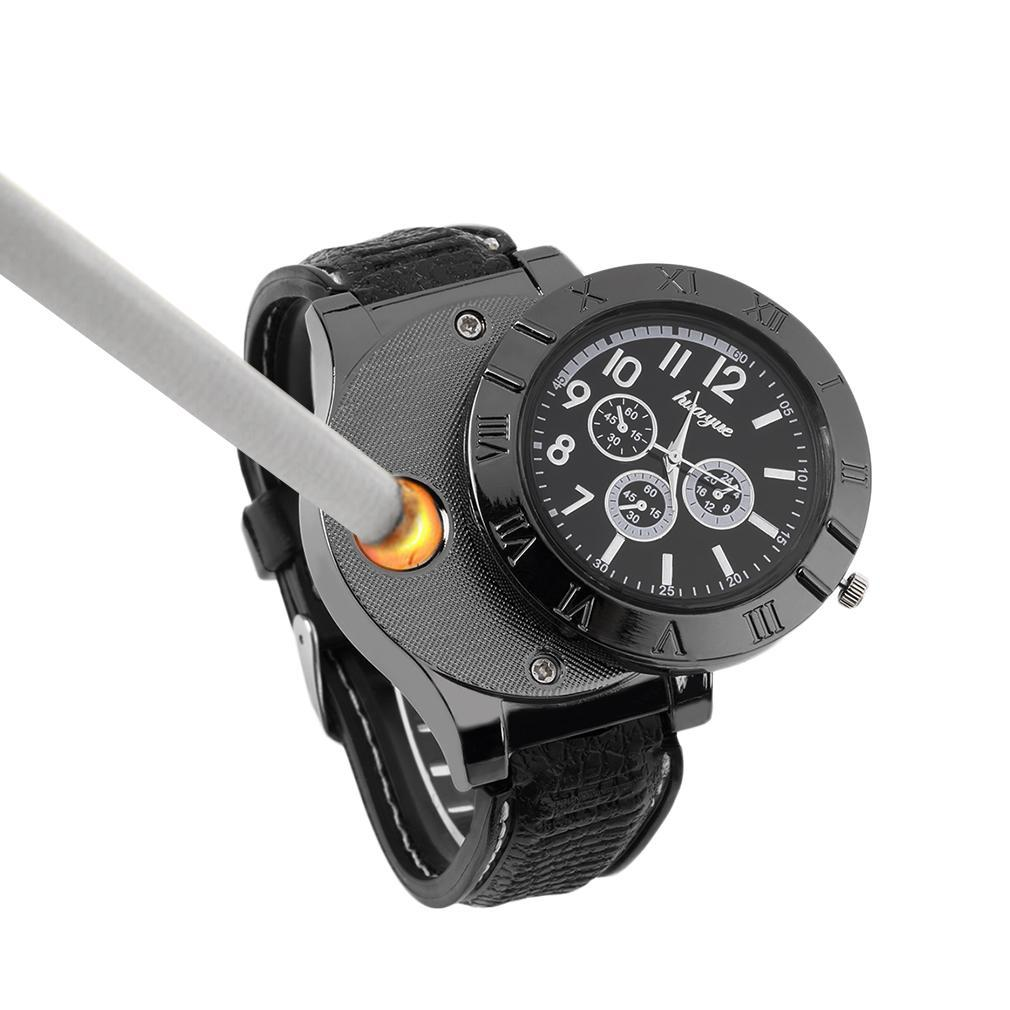 Tactical Spark Watch - Built in Lighter Quartz Watches Shenzhen Guanzhi watch Co., Ltd