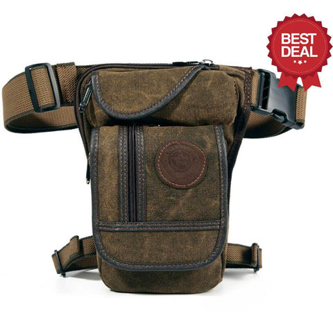 Image of High Quality Leg Bag Alpha Bargain Coffee