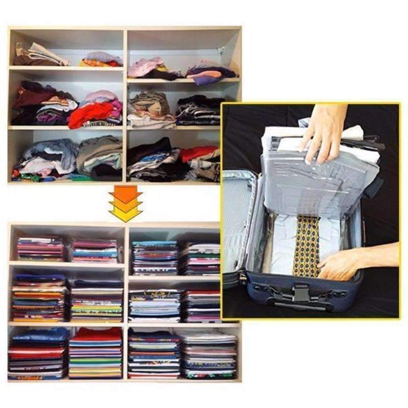 10Pcs Super Slim Clothes Organizer