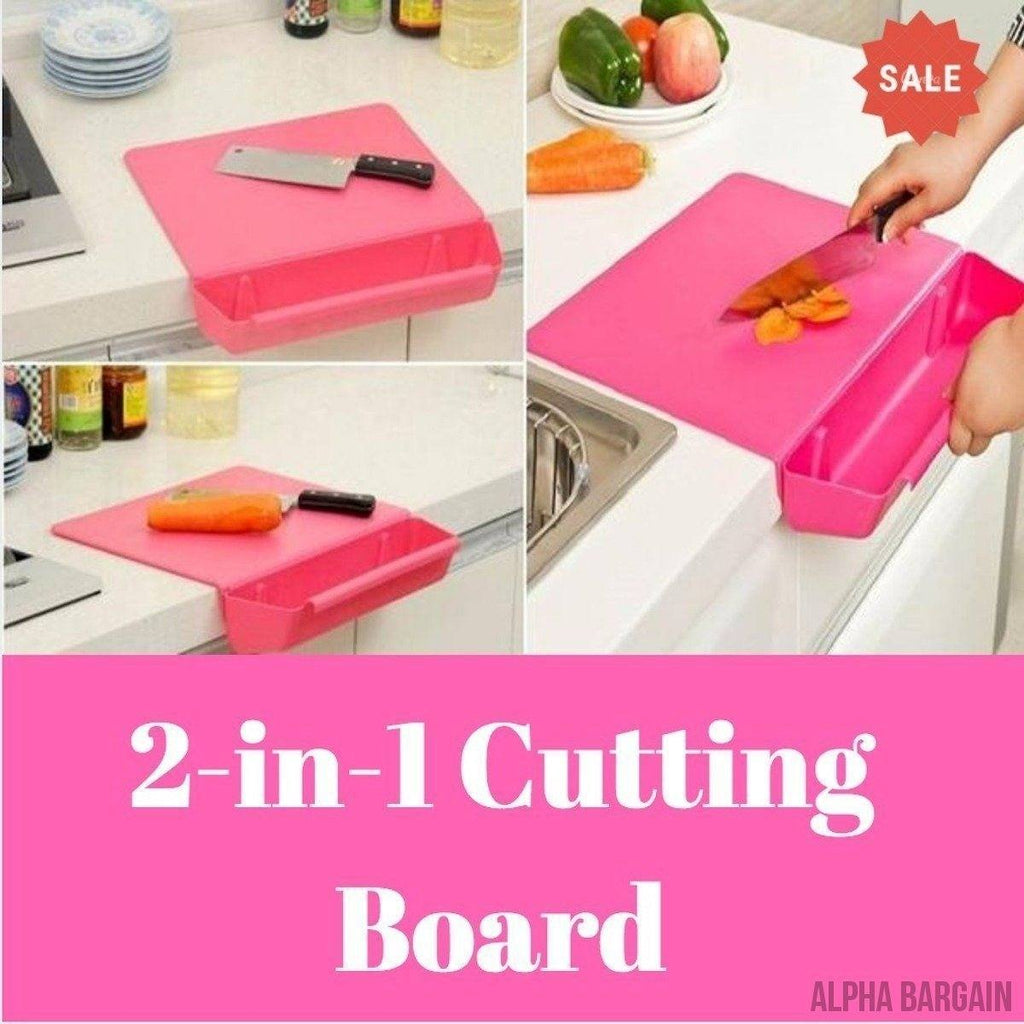 2-in-1 Creative Cutting Board with Detachable Storage Box Vital Survivalist