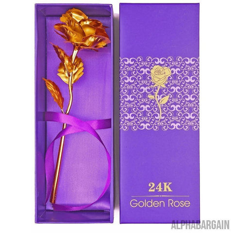 Image of 24K Gold Plated Rose Vital Survivalist