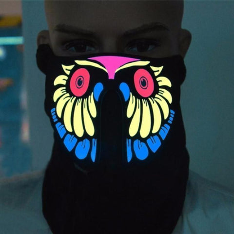 TRON LED Masks Vital Survivalist Owl