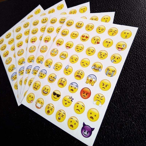 Image of 10 sheets/Pack Emoji Stickers Vital Survivalist