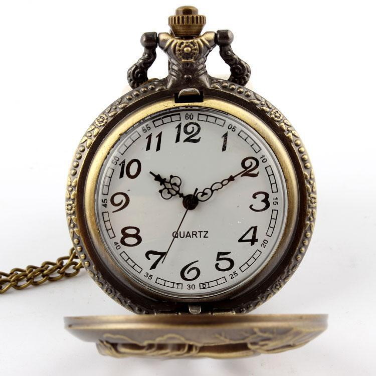 Antique Bronze Horse Pocket Watch
