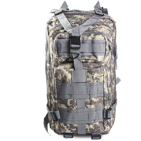 Image of Military Tactical Backpack Great For Camping, Hunting, Hiking Vital Survivalist 1