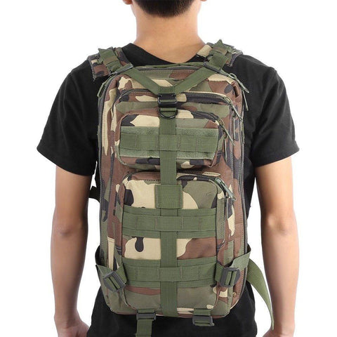 Image of Military Tactical Backpack Great For Camping, Hunting, Hiking Vital Survivalist 7