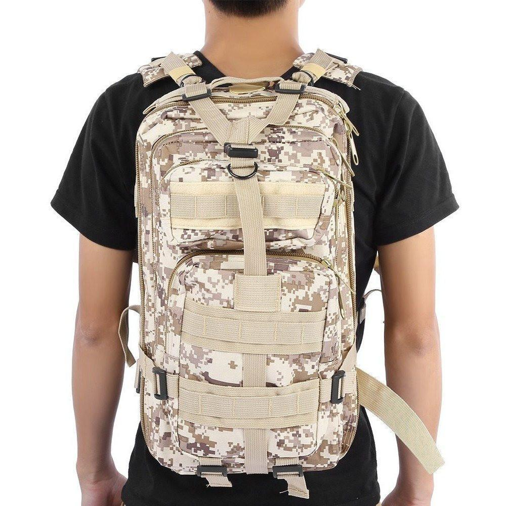 Military Tactical Backpack Great For Camping, Hunting, Hiking Vital Survivalist 8