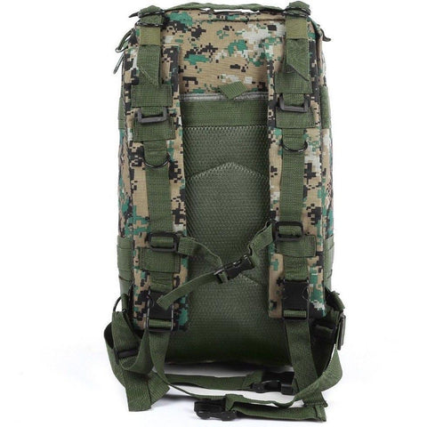 Image of Military Tactical Backpack Great For Camping, Hunting, Hiking Vital Survivalist 9