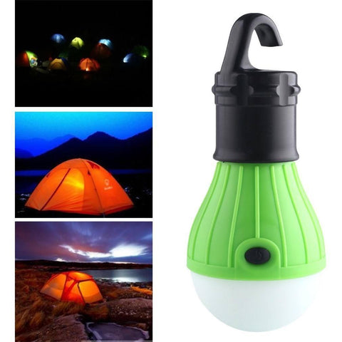 Image of Outdoor Hanging LED Camping Tent Light Bulb - Alpha Bargain