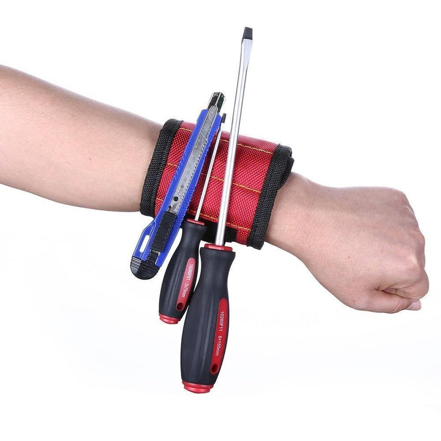 MAGNET MAX - SUPER STRONG Magnetic Wristband - Alpha Bargain