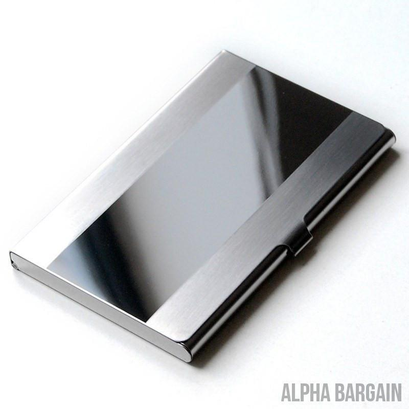 Alpha Max Professional Business Card Holder - Alpha Bargain