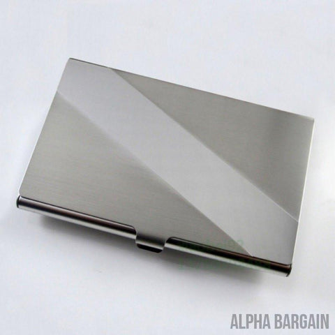 Image of Alpha Max Professional Business Card Holder Gadget Alpha Bargain