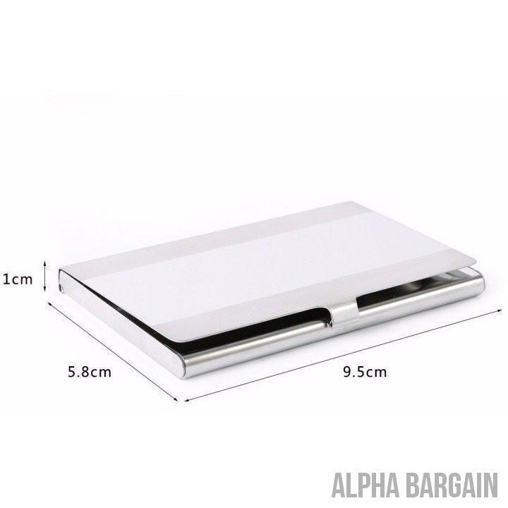 Alpha Max Professional Business Card Holder Gadget Alpha Bargain