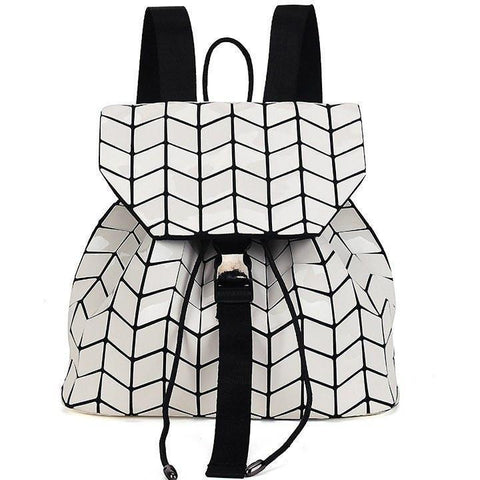 Image of The Geometry Backpack Alpha Bargain White