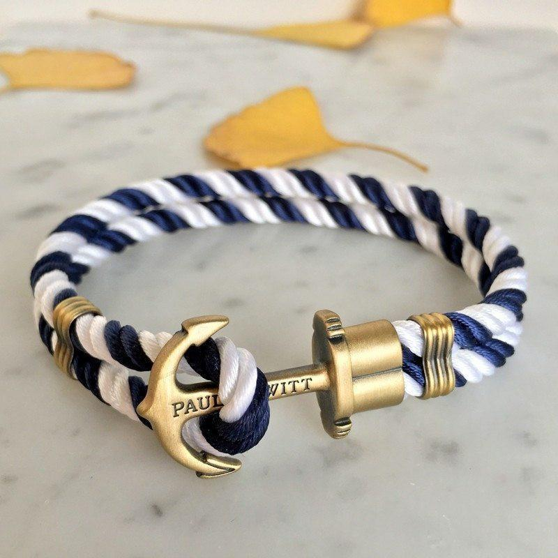 Paul Hewitt Vintage Anchor Bracelet Men - Alpha Bargain