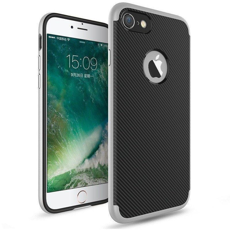 IPhone 7 / 7 Plus Carbon Fiber Phone Case - Alpha Bargain