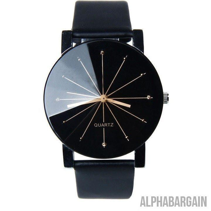 Black & White Forever Men's Quartz Watch - Alpha Bargain