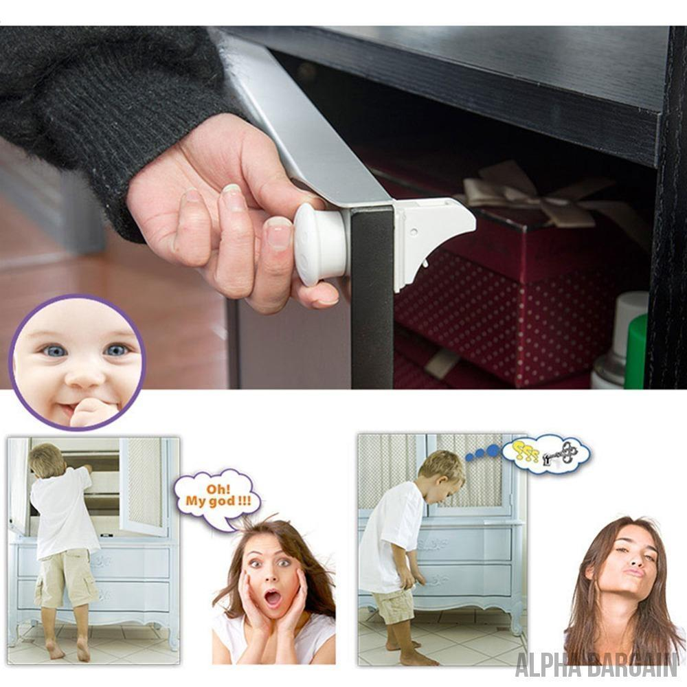 Baby Safety Magnetic Cabinet Locks Vital Survivalist