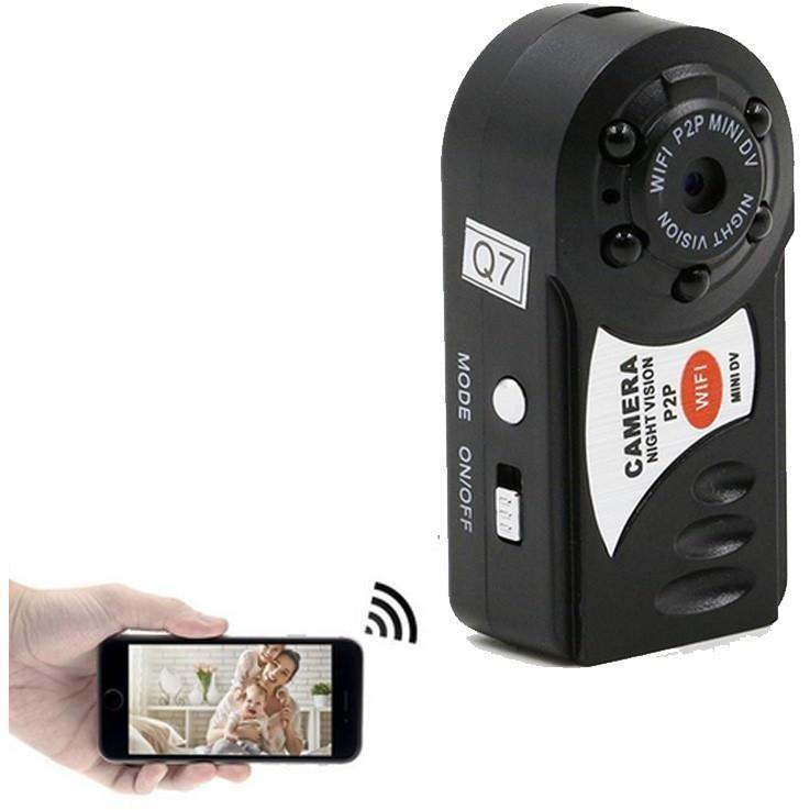 Mini WiFi DVR Wireless IP Camera (Night Vision, Motion Detection with built in Microphone) - Alpha Bargain