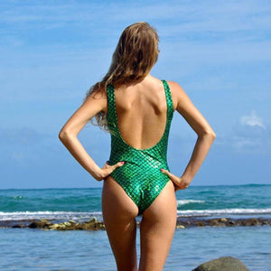 Womens Mermaid Bathing Suit - Alpha Bargain