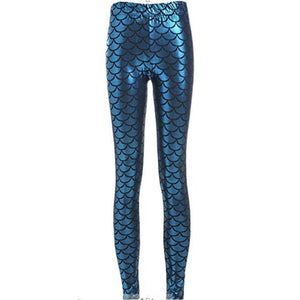 Mermaid Leggings - Alpha Bargain
