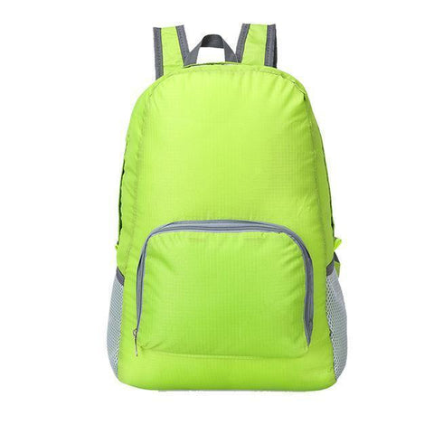 Image of Lightweight Foldable Waterproof Backpack Alpha Bargain Green