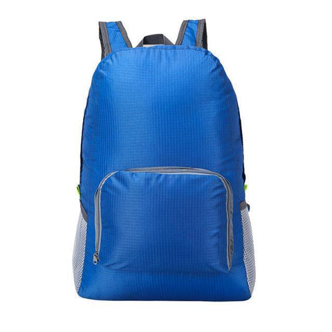 Image of Lightweight Foldable Waterproof Backpack Alpha Bargain Blue